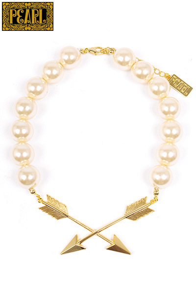 【PEARL】ARROW PEARL NECKLACE/Gold×Pearl | PEARL | | FAKE TOKYO.com