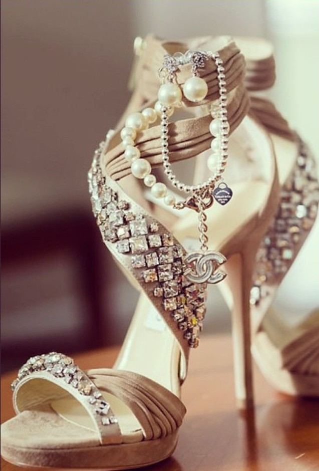 Jimmy Choo & Chanel Wedding Shoes | Wedding Shoes | Pinterest