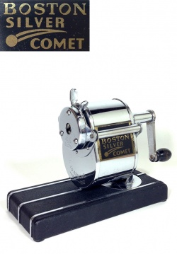 """1930-40's """"SILVER COMET"""" Pencil Sharpener【Mint Condition】 - FUNNY SUPPLY"""