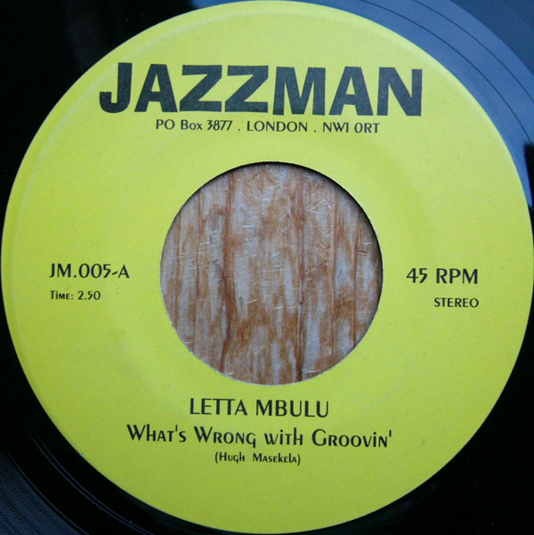 Images for Letta Mbulu / Lorez Alexandria - What's Wrong With Groovin' / Send In The Clowns
