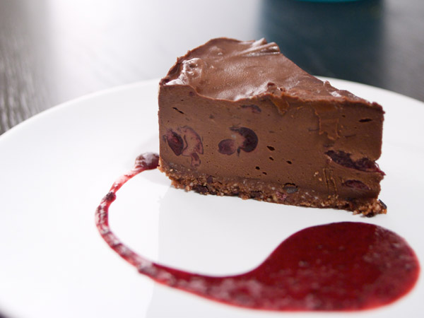 Blackforest Chocolate Cheesecake « G Living | Dark Twisted Space Monkies Go Green