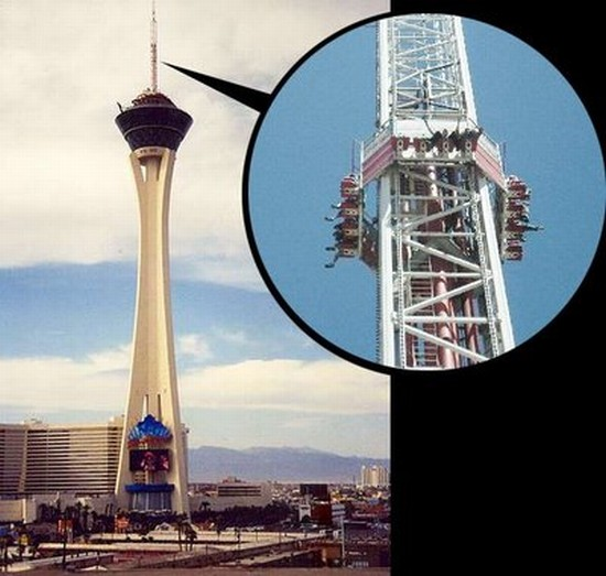Space Needle vs Stratosphere Tower