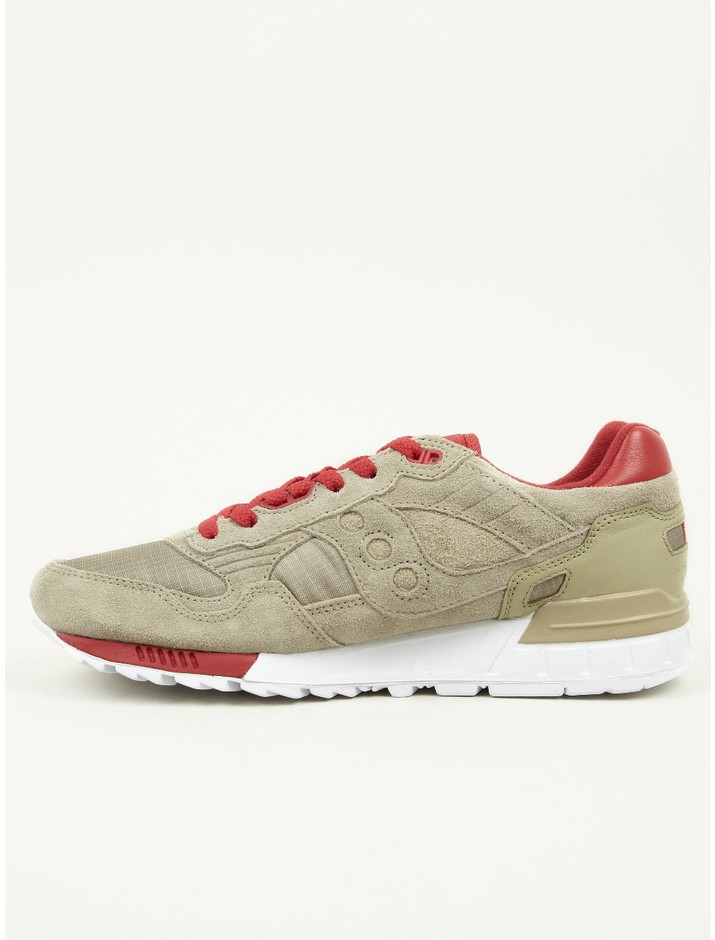 Saucony X The Distinct Life X BAU Men's Khaki Shadow 5000 Sneakers | oki-ni