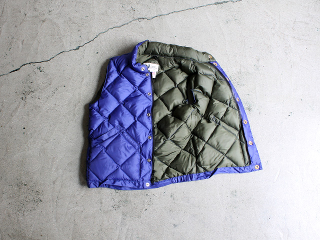 CRESENT DOWN WORKS ITALIAN QUILTING VEST 商品詳細 Strato
