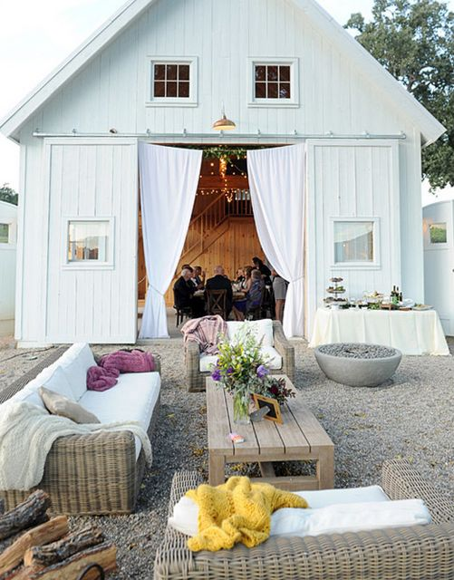 Great outdoor living space and entertaining barn!   tatemon