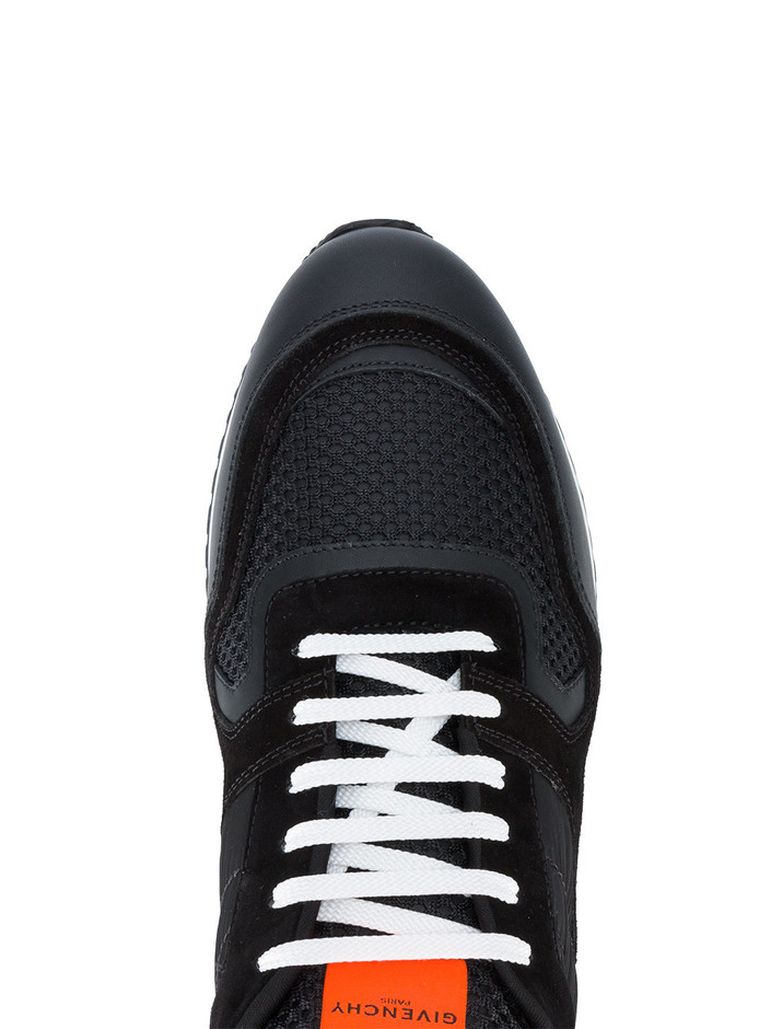 Givenchy Black Runner Sneakers - Farfetch