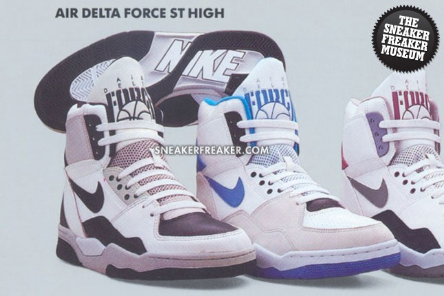 Air Delta Force ST High from the '90s!   The Sneaker Freaker Vintage …