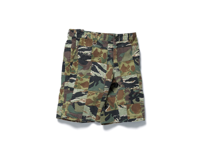 SOPHNET. | PRODUCT | CAMOUFLAGE PATCH WORK SHORT PANT