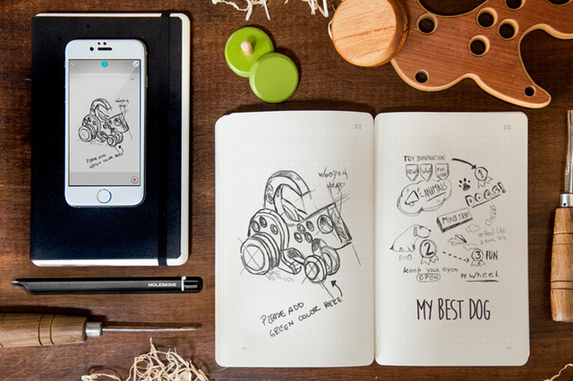 Moleskine launches its Smart Writing Set to digitize your brainstorm | The Verge