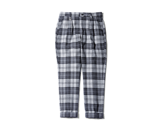 uniform experiment | PRODUCT | WOOL FLANNEL 4 TUCK ANKLE CUT PANT
