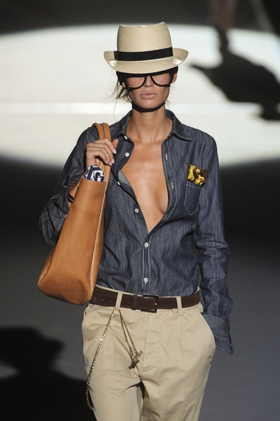 The Denim Shirt / Dsquared² Spring 2011