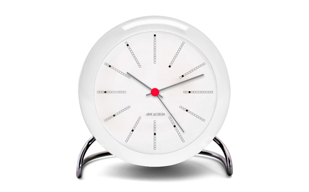 Arne Jacobsen Table Clock Bankers:デザイナーズ家具・インテリアの通販 hhstyle.com