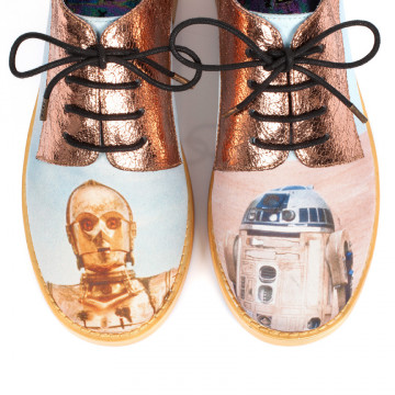 Irregular Choice | Xhr-list | Autumn Winter 2015 | Droids