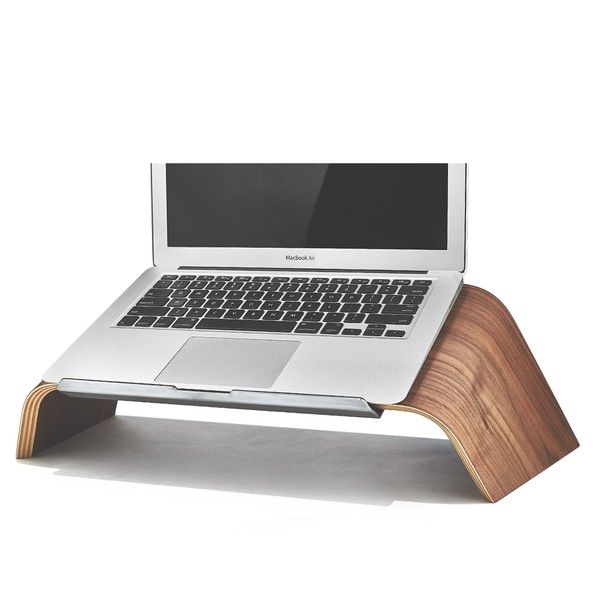 The Walnut Laptop Stand