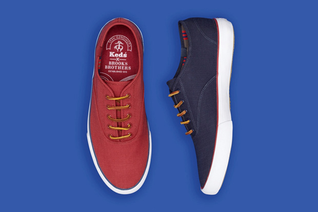 Keds for Brooks Brothers Ripstop Lace-Up | Hypebeast