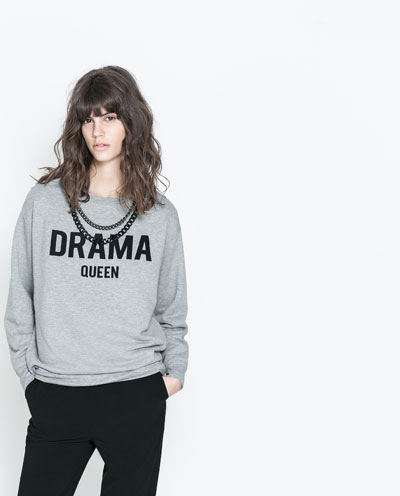 SWEAT COLLIERS - T - shirts - TRF - NOUVELLE COLLECTION | ZARA France