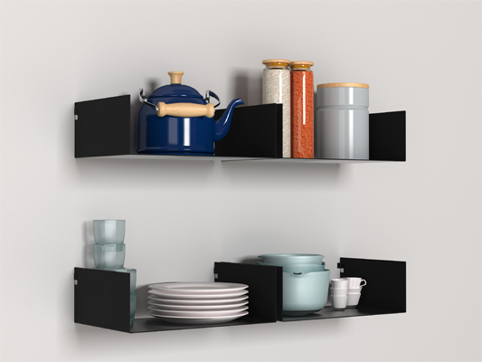 Moni Shelf — Shoebox Dwelling | Finding comfort, style and dignity in small spaces