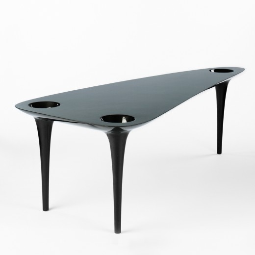 467: Marc Newson / Black Hole table < Important Design, 11 December 2008 < Auctions | Wright
