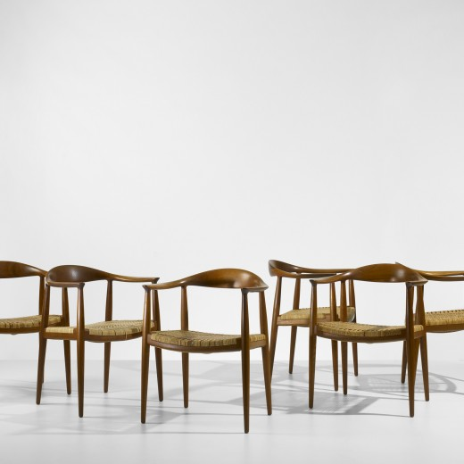 146: Hans Wegner / The Chairs, set of six < , 12 May 2011 < Auctions   Wright