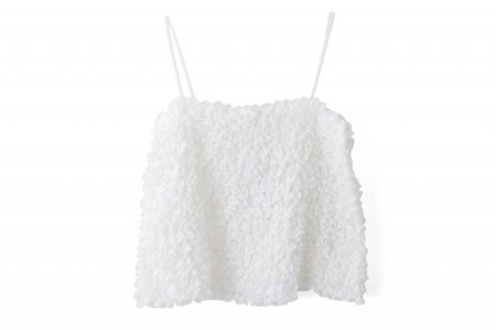 Cotton Organdy Camisole(WH)