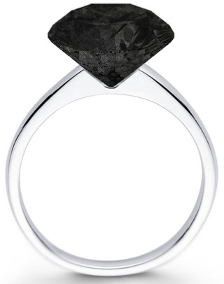 Fancy - Graphite Diamond Ring ($500-5000) - Svpply