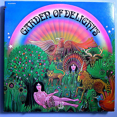 popsike.com - GARDEN OF DELIGHTS ULTRA-RARE UNIQUELY AMERICAN ELEKTRA MAIL-ORDER PSYCH 3LP SET - auction details