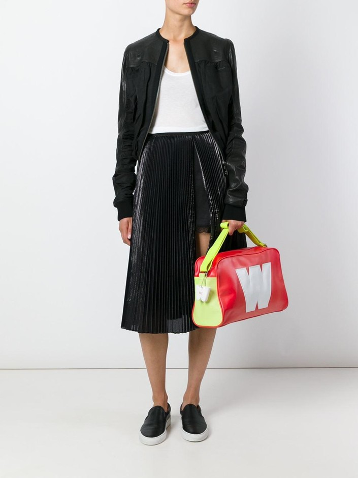 Walter Van Beirendonck Vintage W アップリケ ショルダーバッグ - House Of Liza - Farfetch.com