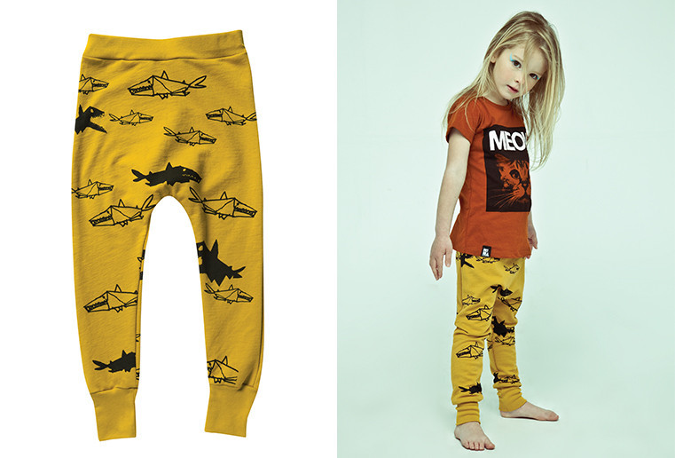 Lojadada : Produto : Mustard JAWS pants by Mini & Maximus