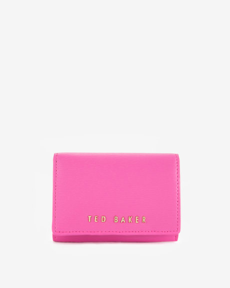 Small crosshatch purse - Bright Pink | Gifts for Her | Ted Baker ROW