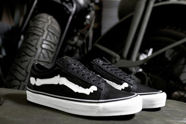 "round about: Blends x Vans Vault Old Skool Zip LX ""Bones"""