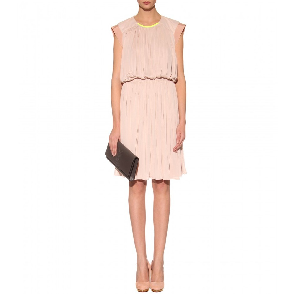 mytheresa.com - Vionnet - GATHERED DRESS - Luxury Fashion for Women / Designer clothing, shoes, bags