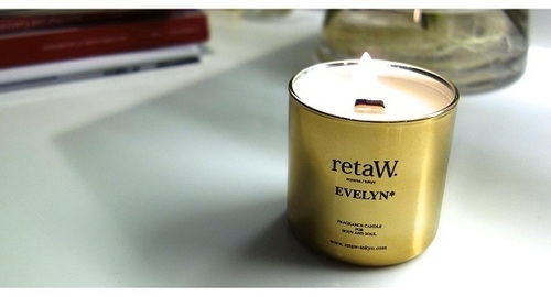 retaW Fragrance Candle EVELYN* GOLD | THE STORE