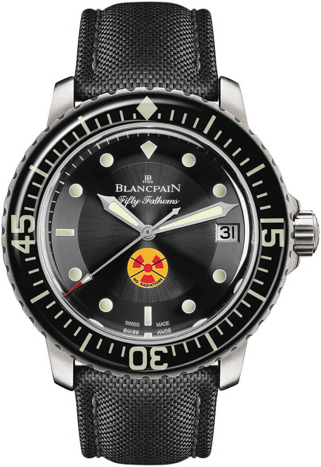 Blancpain Fifty Fathoms Tribute to Fifty Fathoms 5015B-1130-52   The Timepiece Collection