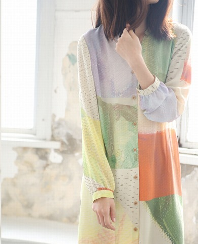 ohta見本シャツワンピース ohta_preorder Palm maison store