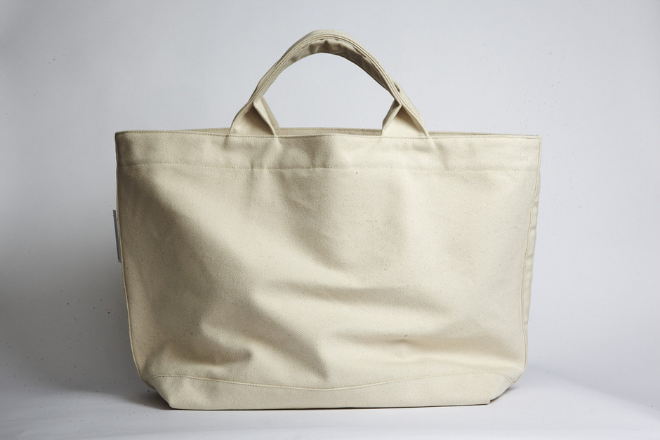 Project No.8: #10 duck canvas beach bag