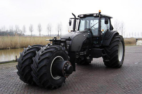 Obvious Winner - ow - Farmer Batman's Tumbler Tractor