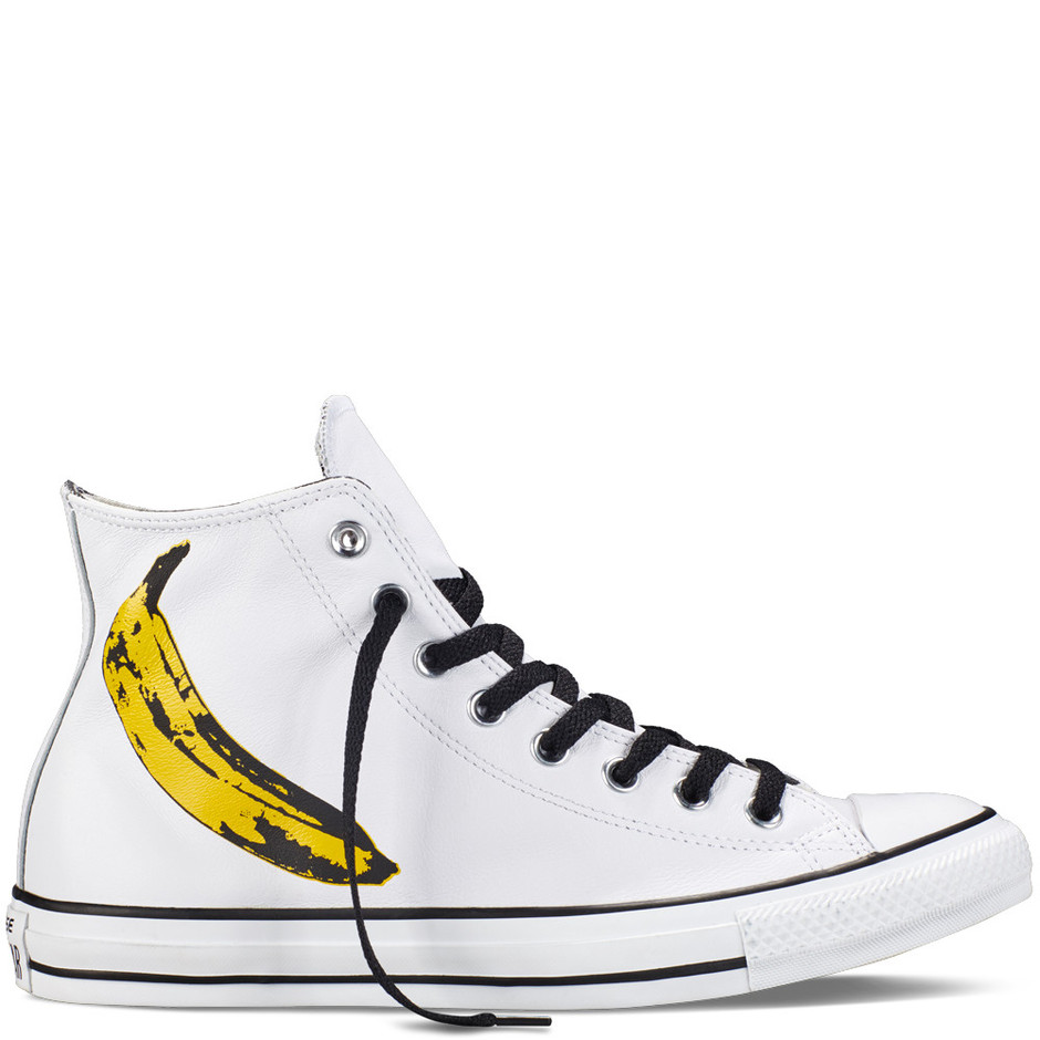 87248e6c4561 Converse - Chuck Taylor All Star Andy Warhol -White - High Top