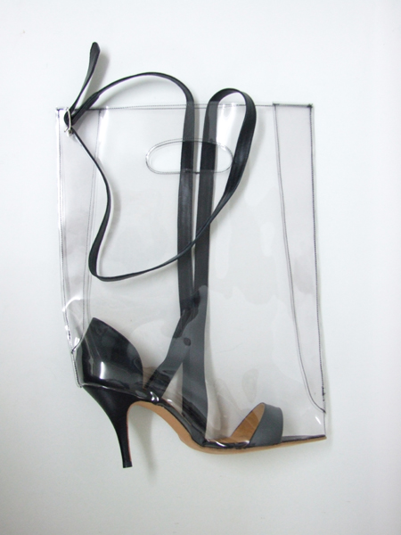 Shoebags - Mule Heel Bag, single heel - Azumi and David - Online Shop
