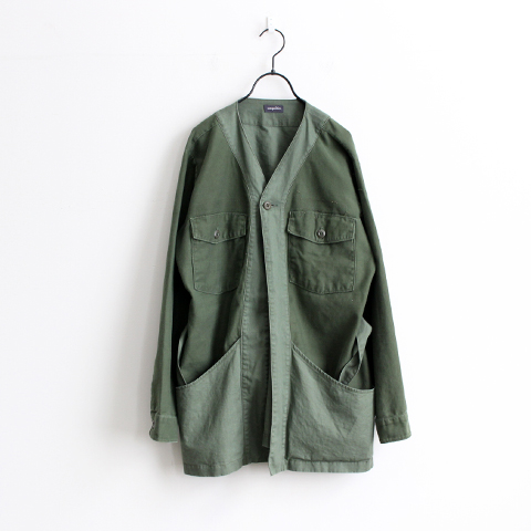 HURRAY HURRAY Composition Remake Army Shirt Gown