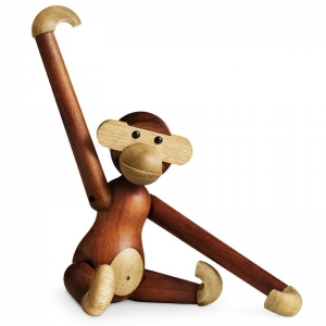 Kay Bojesen Teak and Limba Wood Monkey | Flickr - Photo Sharing!