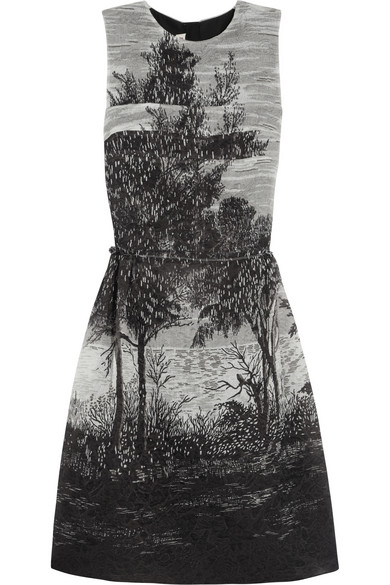 Marni | Treescape printed jacquard dress | NET-A-PORTER.COM