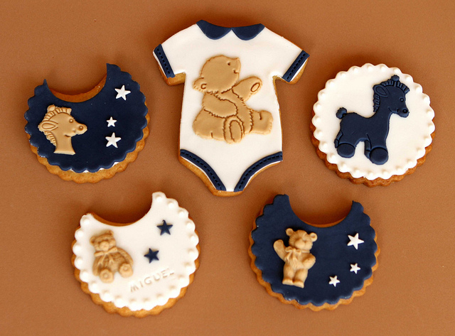 """Baptism """"Miguel"""" Cookies 