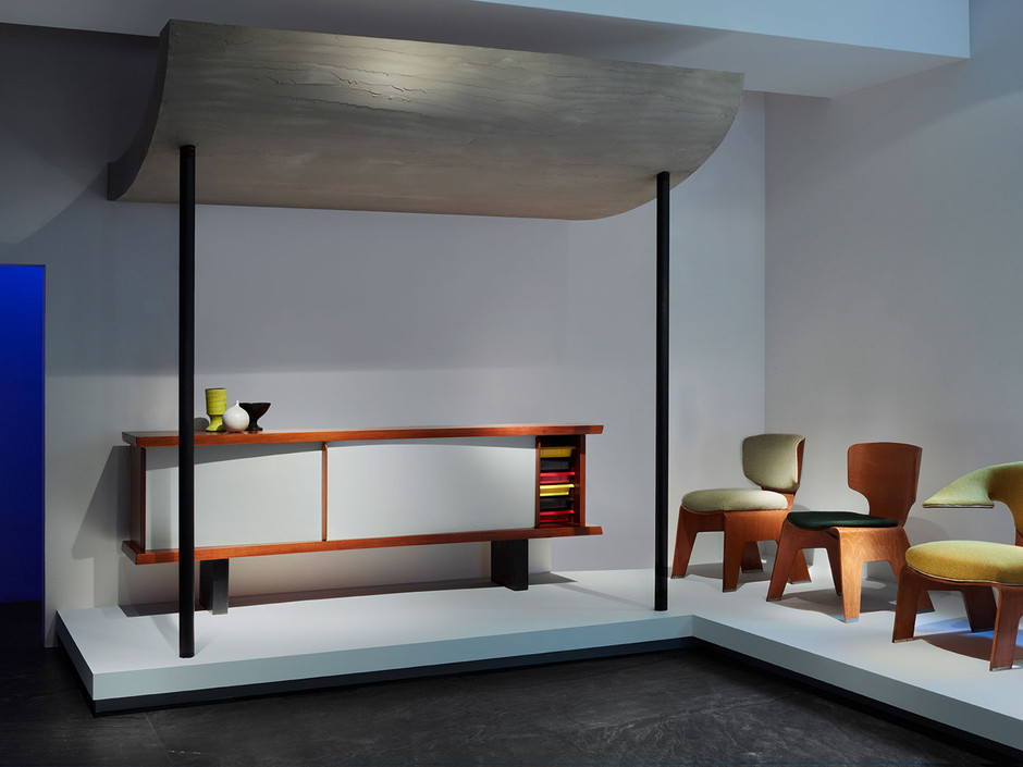 charlotte perriand grand meuble buffet ca 1958 sumally. Black Bedroom Furniture Sets. Home Design Ideas