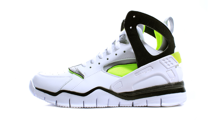 Wish Atlanta | Nike Air Huarache Free Basketball 2012 - White/Black/Volt | 2.01