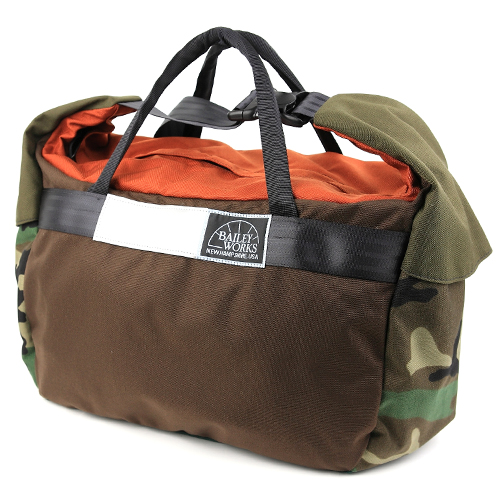 BLUE LUG / *BAILEYWORKS* whale mouth duffel BL special (small/D)