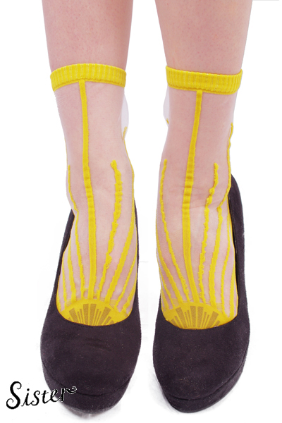 【Sister Original】Socks「DEMAIN」-SUN color- | Sister Original | | FAKE TOKYO.com