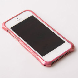 【REAL EDGE】C-2 for iPhone5/Plum Pink - 藤巻百貨店