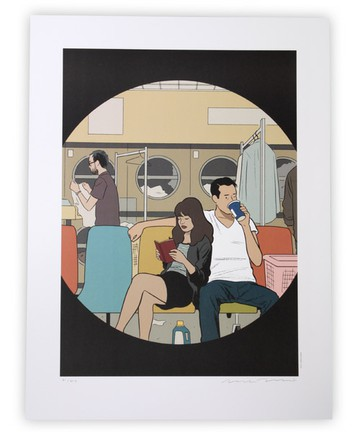 """IN THE CITY / TOMINE POSTER """"Favorite Shirt"""" TOKYO CULTUART by BEAMS[トーキョー カルチャート by ビームス] 