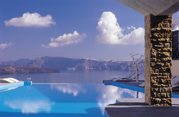 Getaway Taken To Remarkable Romantic Heights: Astarte Suites, Santorini | Freshome