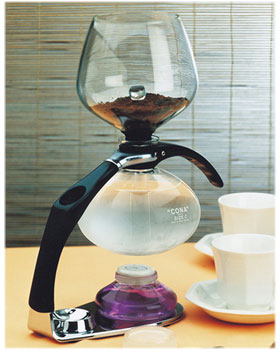 Using The Cona All Glass Vacuum Coffee Maker